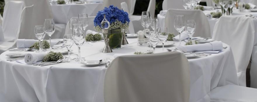 Consejos para organizar las mesas de la boda