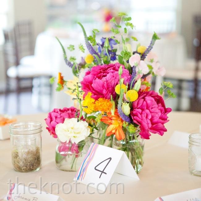 Ideas para tus centros de mesa con flores -