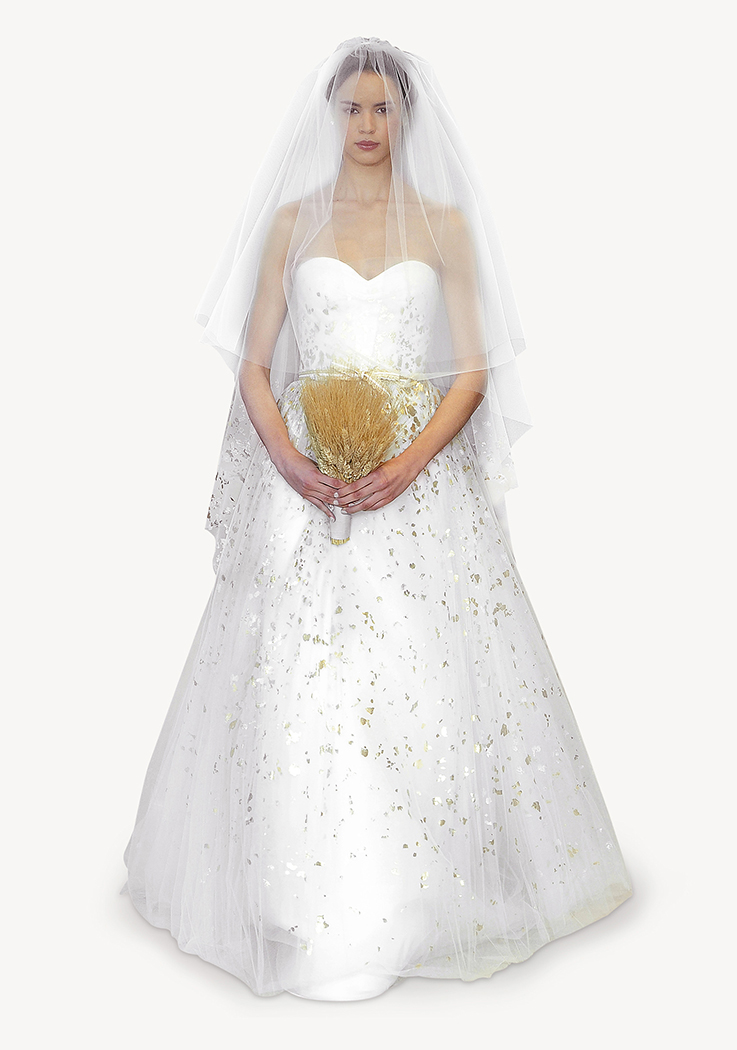 Un vestido de princesa muy festivo
