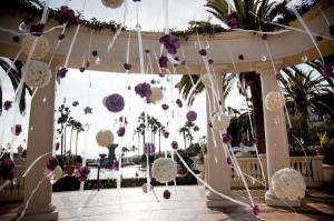 Una boda en primavera. Decoración