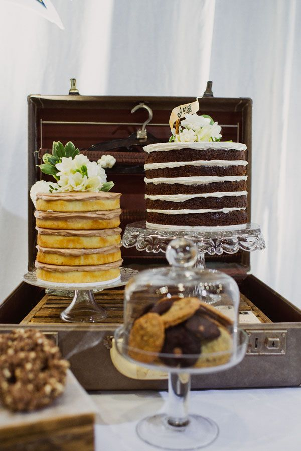 Naked cake en la candy bar