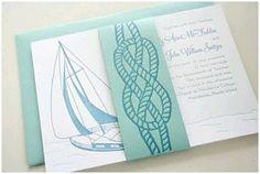 Invitaciones de inspiración marinera