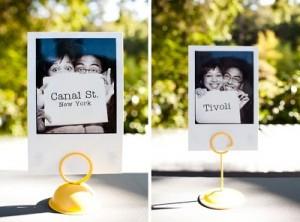 Propuestas con Polaroids para la Decoración!