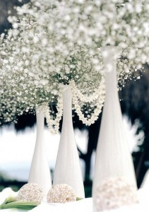 Botellas decorando tu boda 2