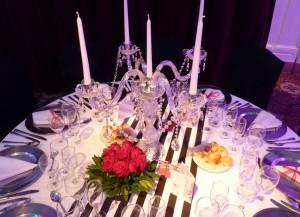 Decoración barroca salón boda