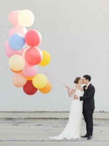 Globos en tu boda. Decoración y más.