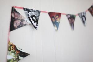 Guirnalda con fotografías de una manera sencilla