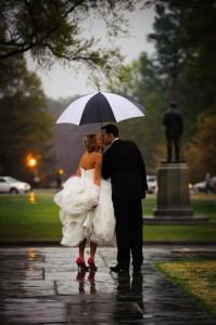 Curiosidades sobre bodas. Novia mojada, novia afortunada