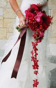 Bouquet cascada
