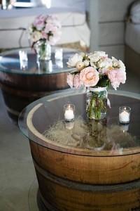 Tarros decorando tu boda
