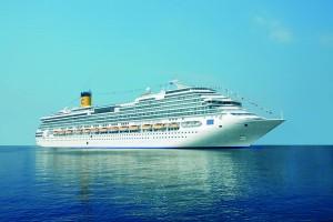 Luna de miel de lujo a bordo de un crucero