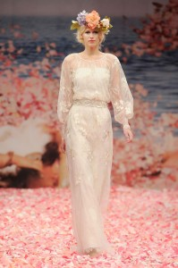 Vestido de novia de Claire Pettibone