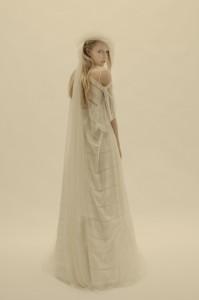 Vestido de novia diseñado por Cortana