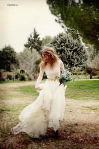 Vestido de novia de NNavascues