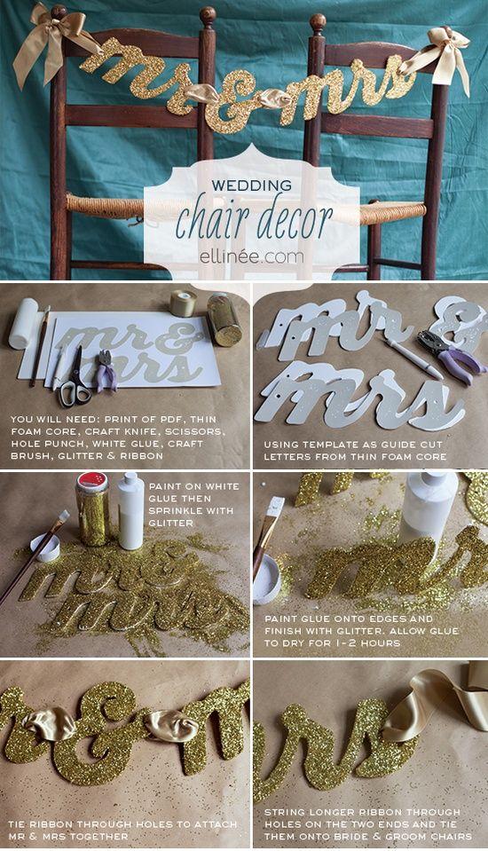 DIY Letras para bodas
