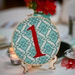 Bastidos boda numerar mesas