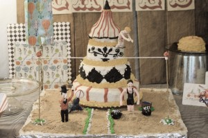 Tarta de Boda basada en el Circo