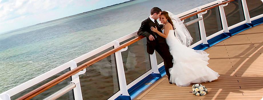 Fotos boda en un barco