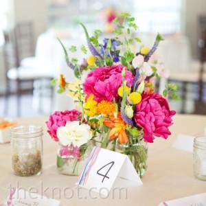 Ideas para tus centros de mesa con flores