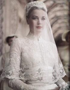 Grace Kelly, una de las novias más guapas del mundo