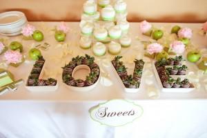 Dulces para tu boda