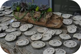 detalles en madera para tu boda