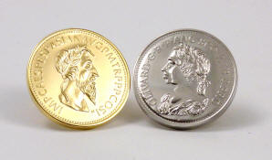 Monedas en los zapatos de las novias suecas