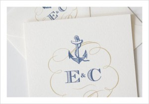 Imprimible boda marinera