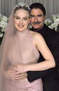 Sharon Stone y Phil Bronstein