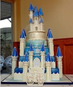 Una tarta de boda diferente
